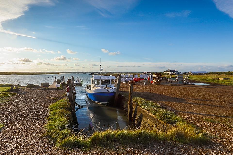 Port, Ship, Bay, Ocean, England