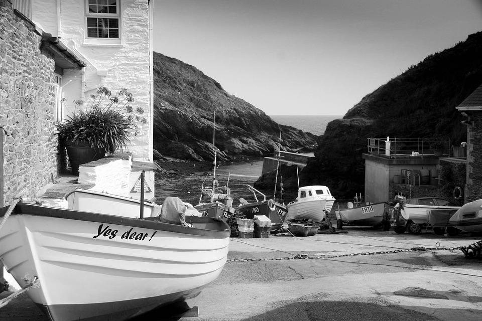 Harbour, Village, Sea, Boat, Coast, Water, Summer, Bay