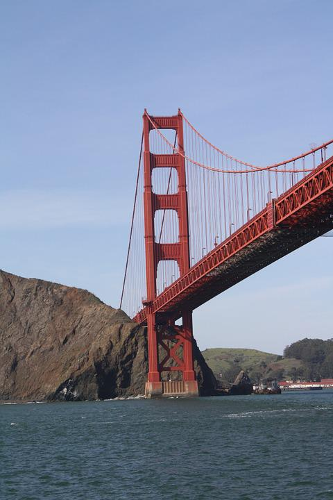 Golden Gate Bridge, San Francisco, Bridge, Bay, Water