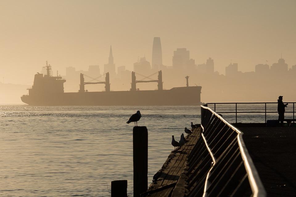Francisco, Ship, Bay, California, Water, Sea, Boat