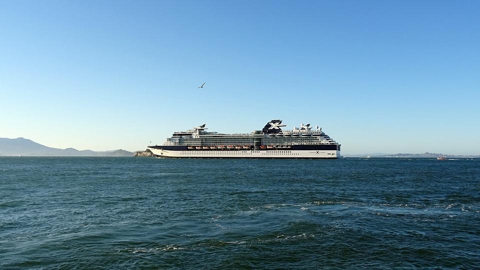 Cruise Liner, Ship, Water Front, Bay, San Francisco