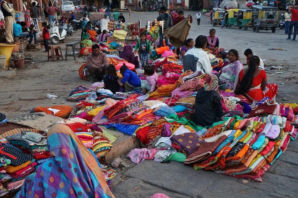 Human, Market, Road, Bazaar, Marketplace, Traditionally