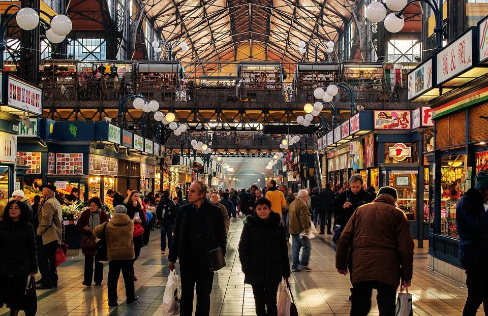 Bazar, Market, Local Market, Budapest, Travel, Food