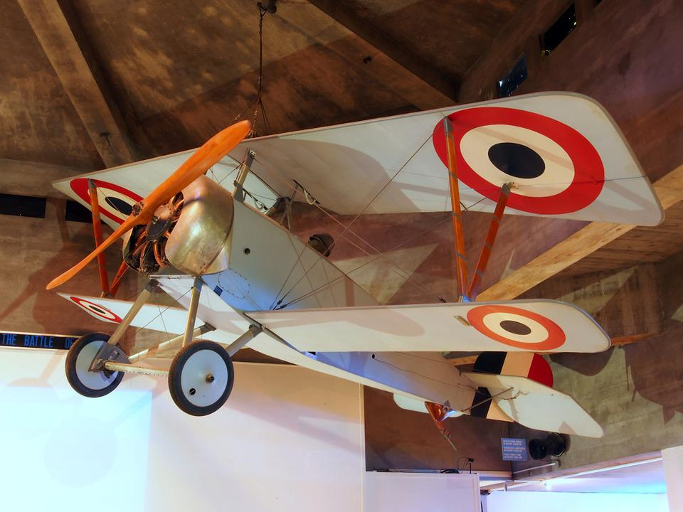 Bb Nieuport, Model 1916, Model, Verdun Memorial