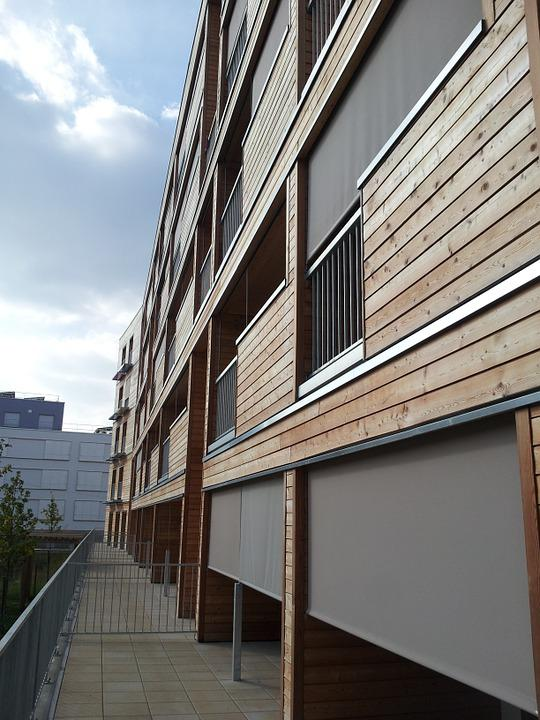 Architecture, Building, Bbc, Cladding Wood