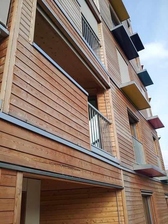Facade, Building, Wood, Bbc
