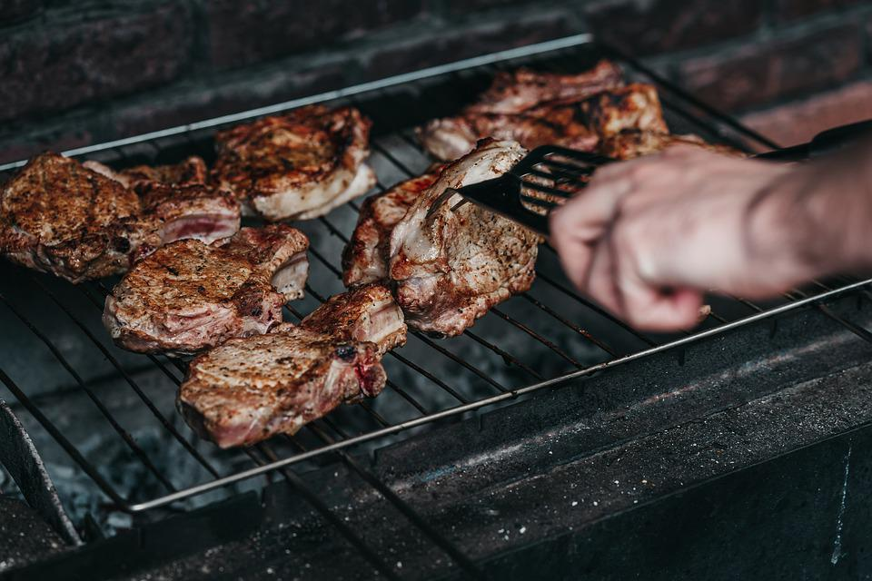 Meet, Bbq, Meat, Grill, Barbecue, Food, Cooking, Eating