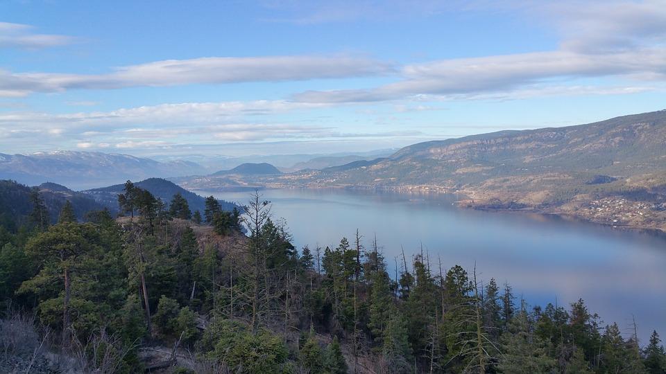 Okanagan, Bc, Lake, Kelowna