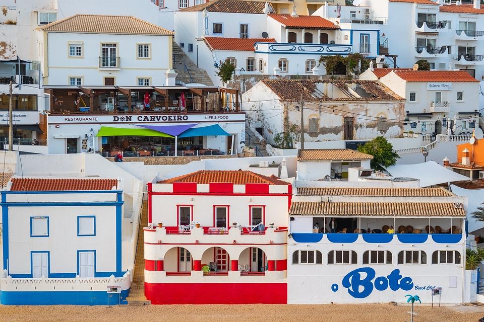 Carvoeiro, Portugal, Beach, Sea, Algarve, Landscape