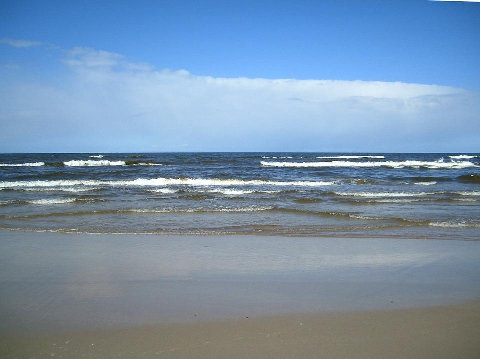 Baltic Sea, Beach, Sand