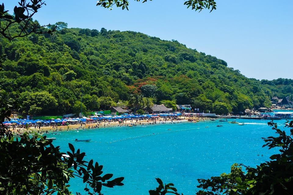 Beach Roqueta, Acapulco, Mexico, Paradise, Beach, Sunny