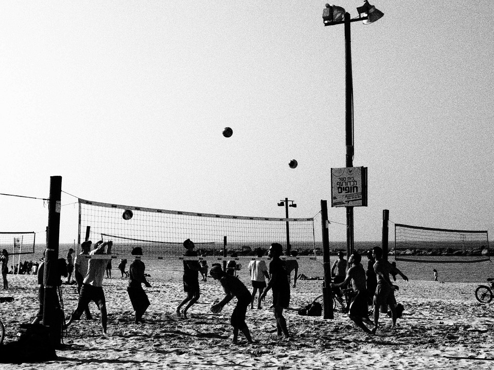 Volleyball, Beach Volley, Beach, Volley, Sport, Game