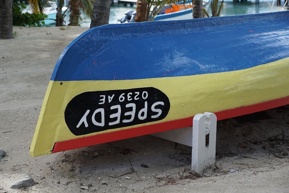 St Maarten, Philipsburg, Caribbean, Beach, Boot