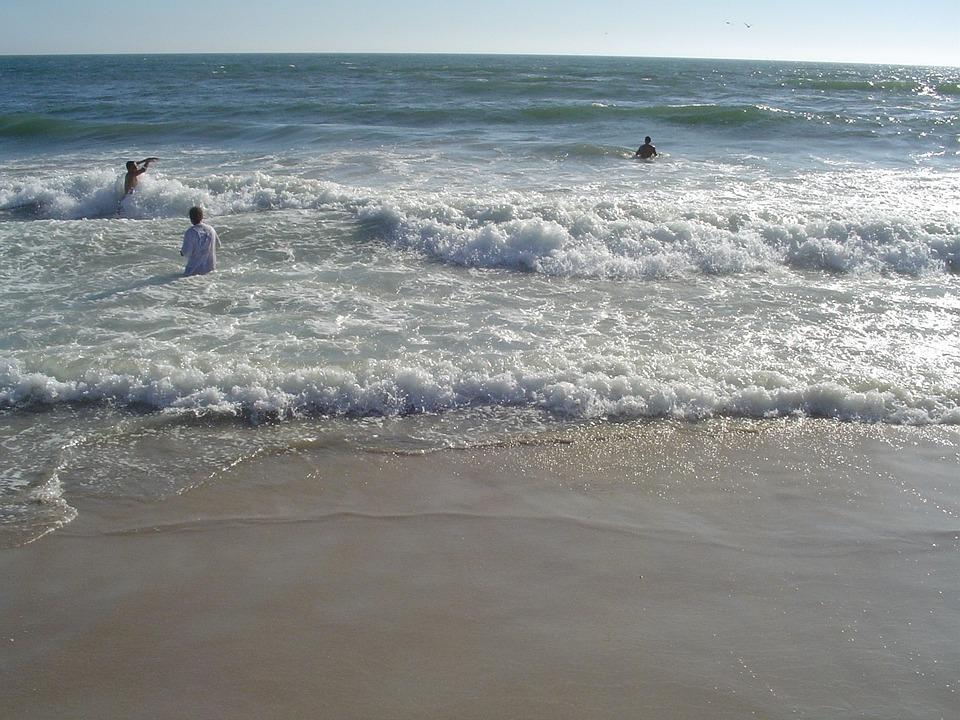 Beach, California, Sunshine, Sun, Sand