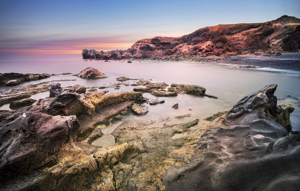Sunset, Isla, Beach, Caribbean, Caribs, Paradise