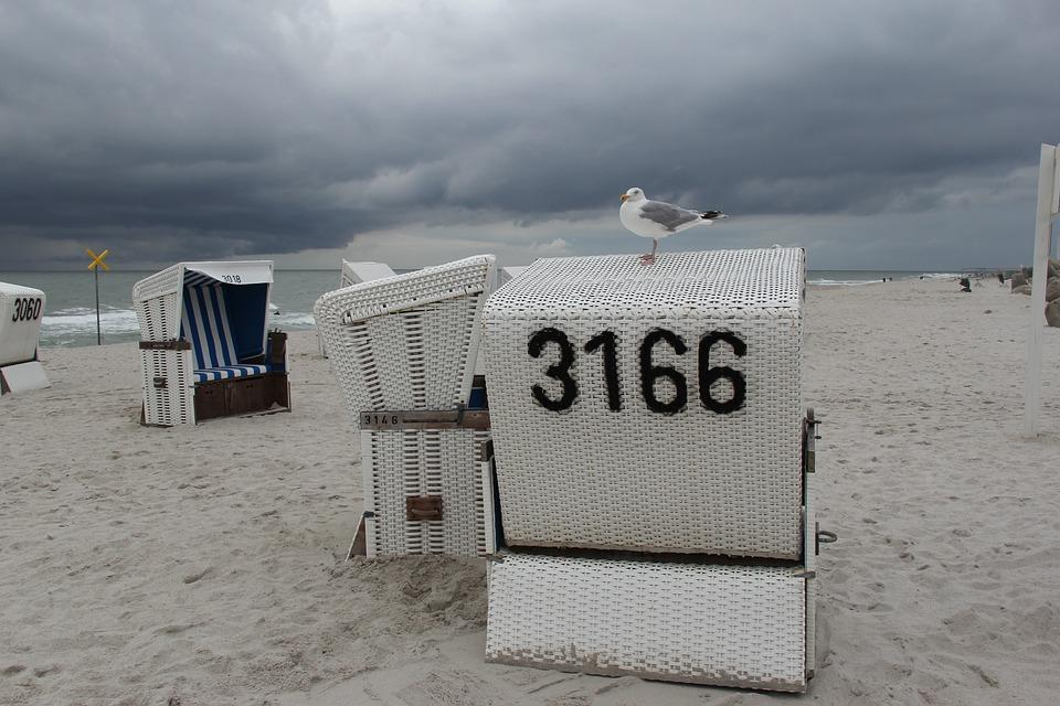 Beach, Sand, Sea, Coast, Travel, Beach Chair, Sylt