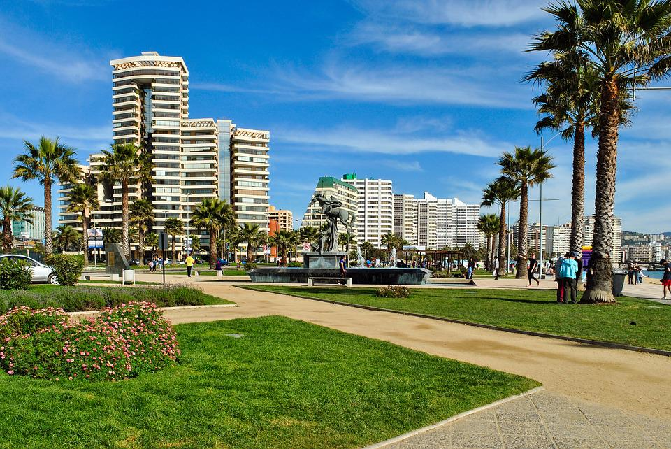 Viña Del Mar, Chile, Beach