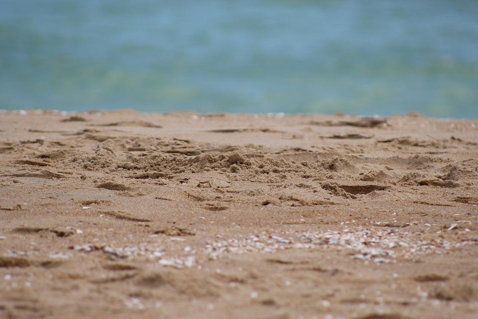 Sand, Beach, Ocean, Sea, Seashore, Coast, Nature, Sandy