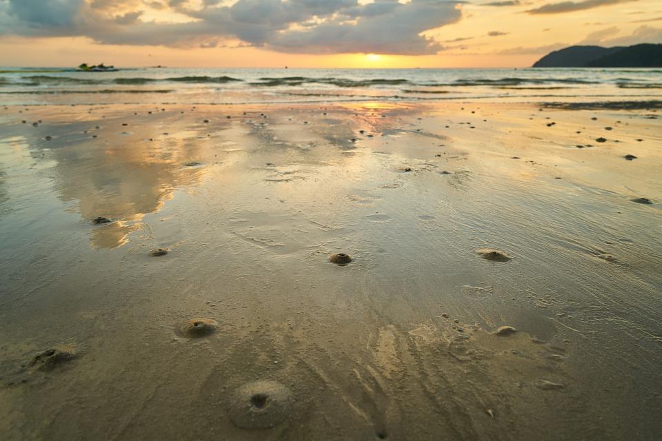 Landscape, Beach, Marine, Nature, Water, Solar, Coastal