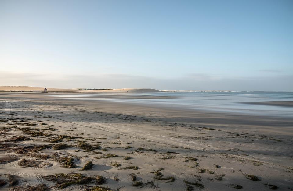Beach, Seashore, Coastline, Sand, Sea, Ocean, Shore