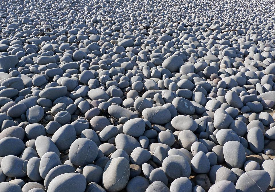Pebbles, Beach, Rocks, Boulders, Stones, Coastline