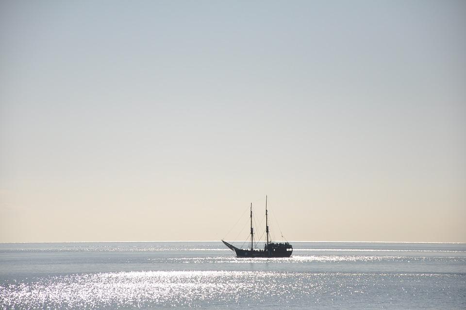 Boat, Beach, Sea, Landscape, Costa, Holiday, Calm