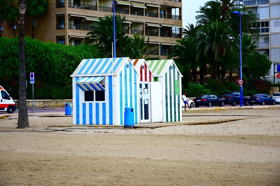 Beach, Sun, Sea, Ocean, Waves, Holiday, Dusk, Summer