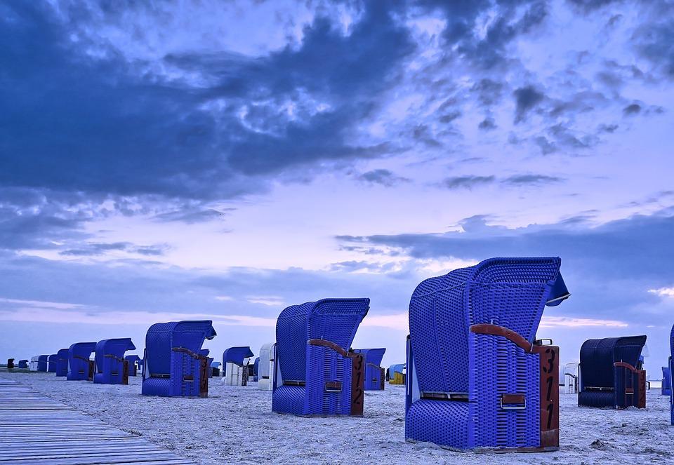 Beach Chair, East Frisia, Sea, Clubs, Beach, North Sea