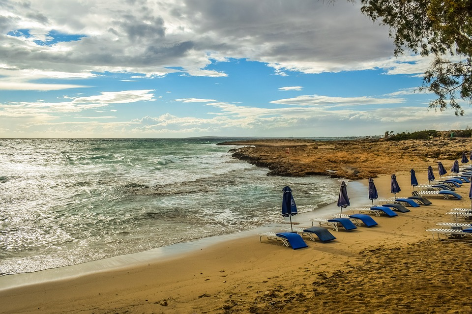 Beach, Empty, Sea, Autumn Mood, End Of Season