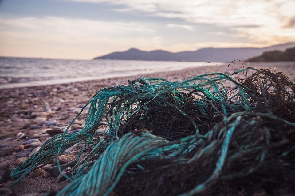 Garbage, Beach, Peddles, Environment, Pollution