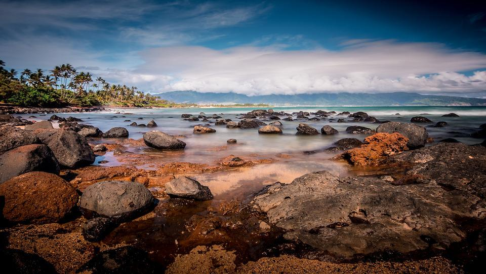 Body Of Water, Nature, Side, Sea, Beach, Maui, Hawaii