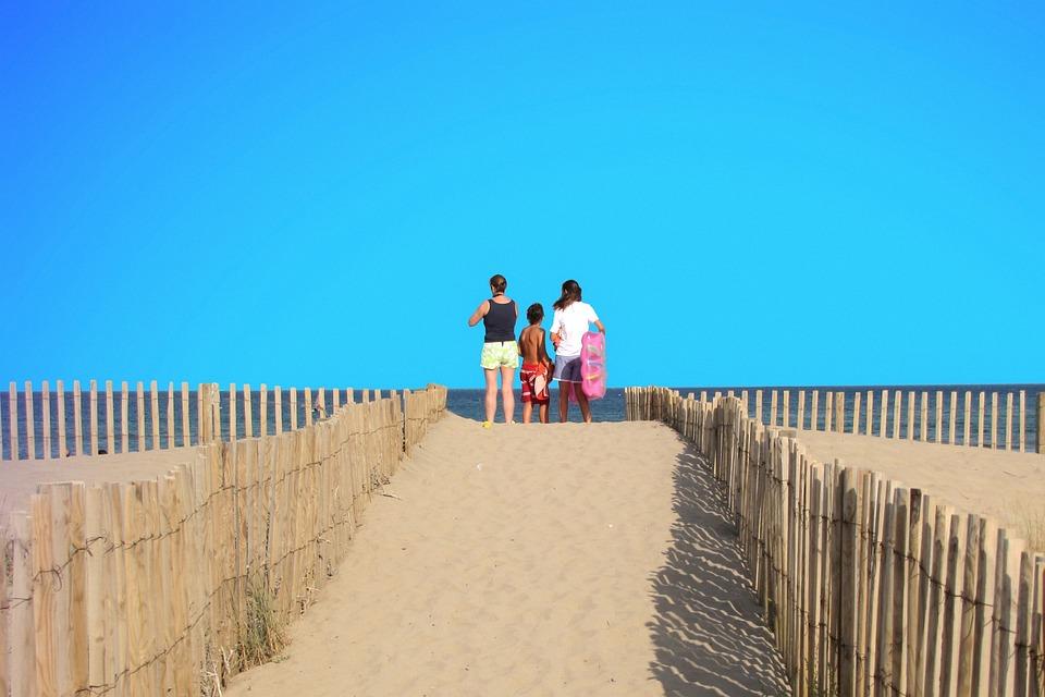 Dune, Sandy Beach, Beach, Horizon, Heat Wave, View