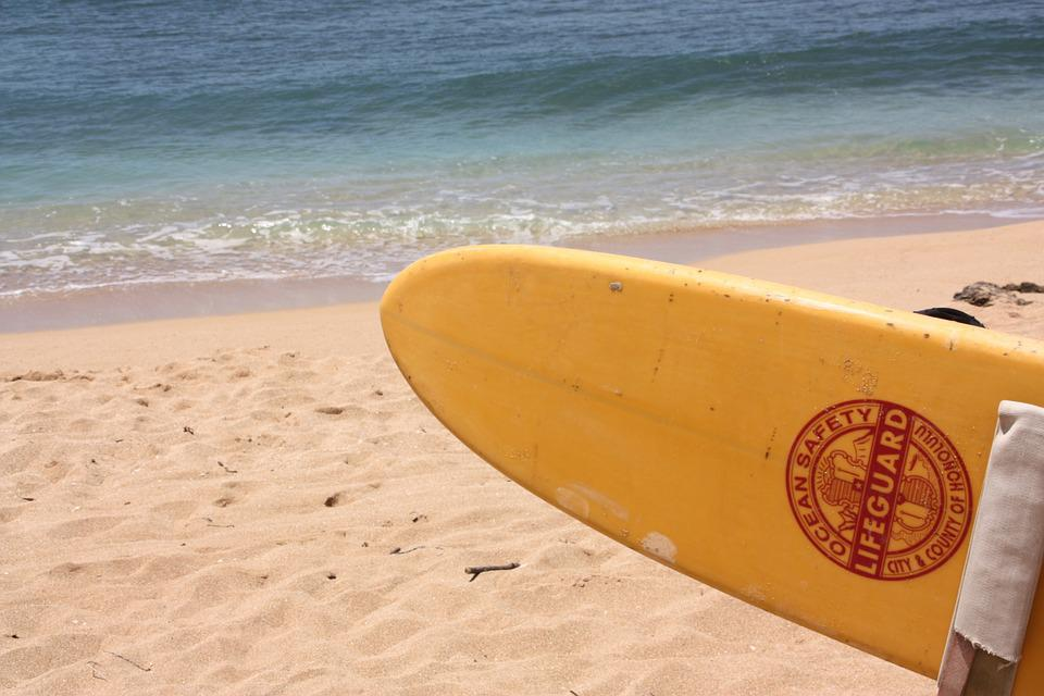 Beach, Surfboard, Holiday, Sand