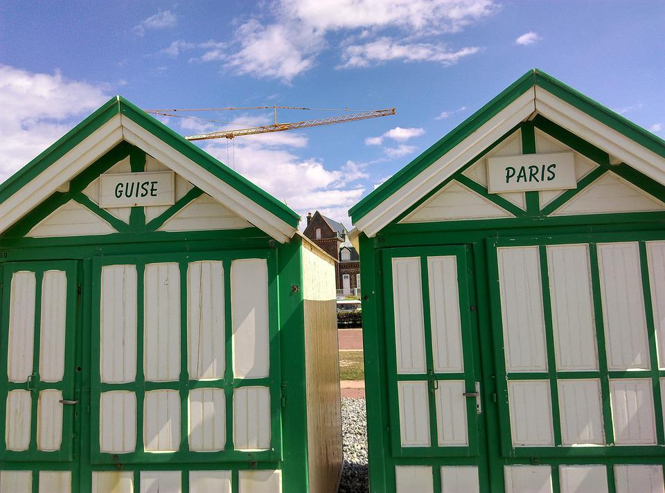 Barracks, Houses, Beach, Paris, As, House, Cabin
