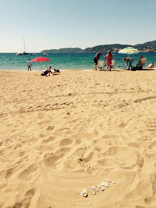 Ibiza, Beach, Sea, Sand Beach, Holiday, Holidays, Sun