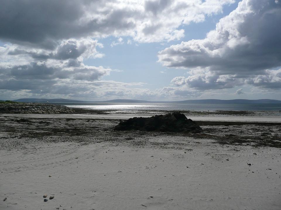 Irish, Landscape, Ireland, Ocean, Sea, Beach, Seascape