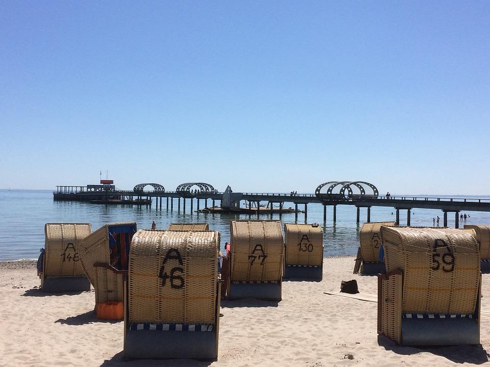 Kellenhusen, Beach, Clubs, Baltic Sea, Mecklenburg