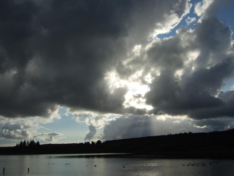 Ireland, Landscape, Irish, Sky, Sea, Beach, Mirroring
