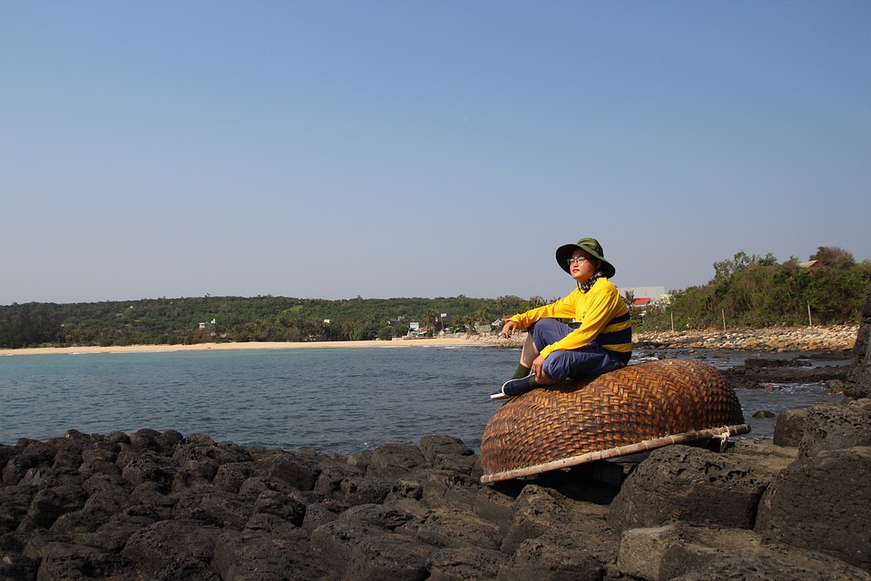 Vietnam, Asian, Beach, Nature, Sunny, Landscape, Sea