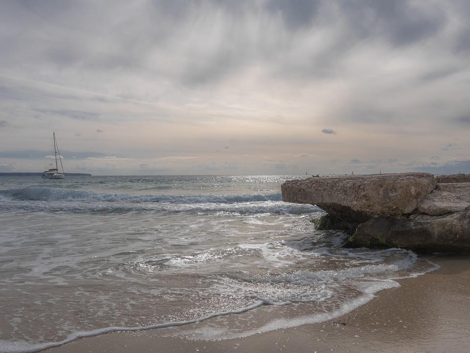 Body Of Water, Sea, Costa, Landscape, Beach, Sky