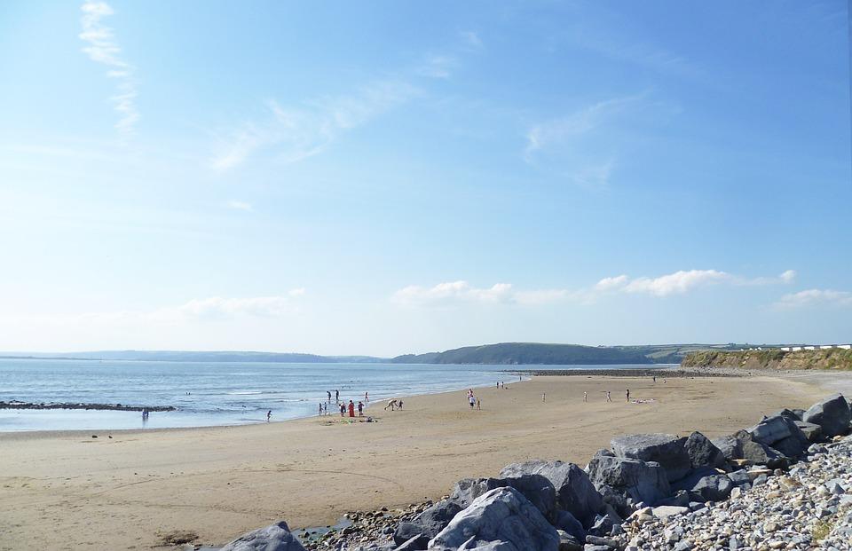Landscape, Beach, Nature, Sky, View, Summer Landscape