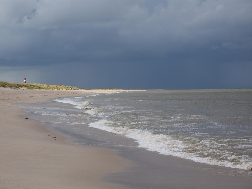 Beach, Sea, Wave, Sand Beach, White Beach, Lighthouse