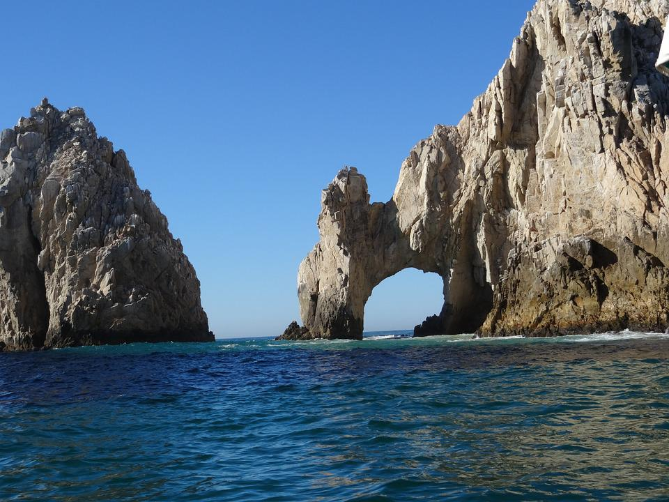 Los Cabos, Mexico, Beach, Rock Formation