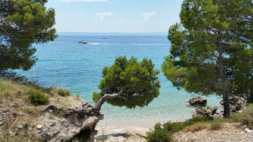 Croatian Beach, Beach Makarska, Sea, Adriatic, Tourism