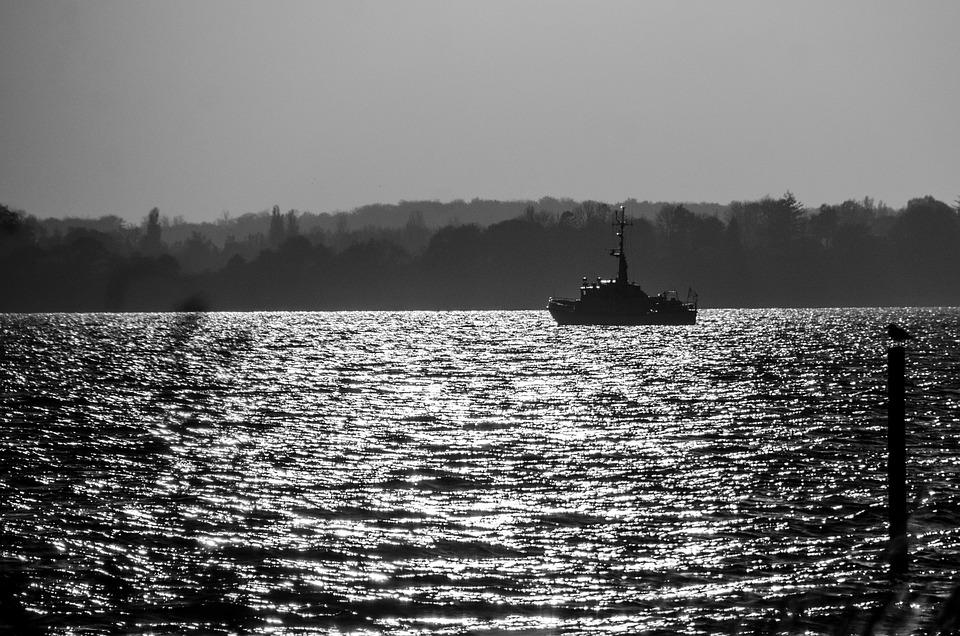Beach, Evening, Mood, Ship, Sydfyn, Marine Boat