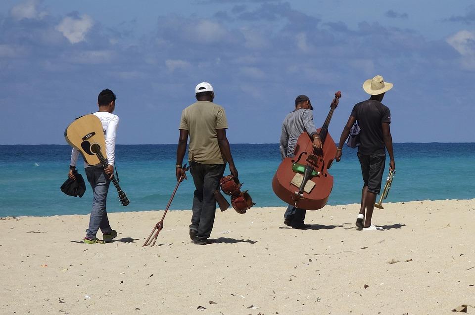 Musician, Instrument, Beach, Music, Joy Of Life