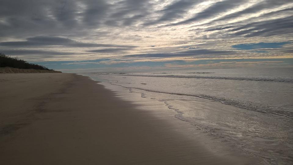 Beach, Sea, Water, Nature, Landscape