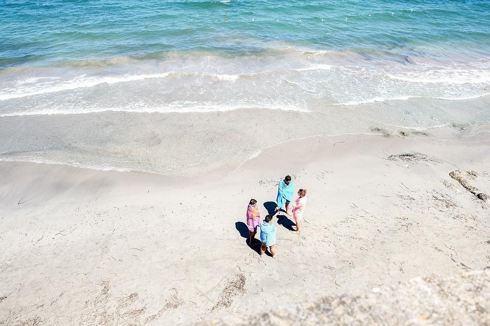 Beach, Ocean, People, Sand, Sea, Seashore, Water