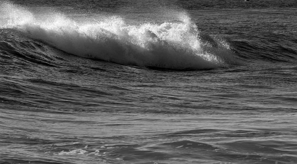 Ocean Waves, Breaking Waves, Beach, Ocean, Surf