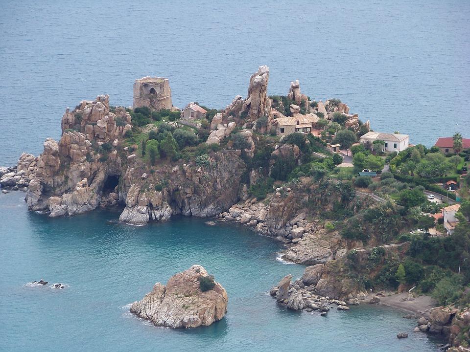 Italy, Sea, Island, Paradise, Beach